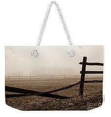 Foggy Pasture Weekender Tote Bag