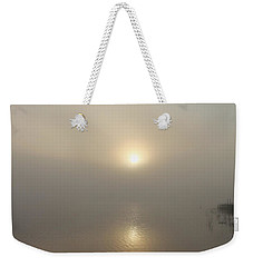 Foggy Reflections Weekender Tote Bag
