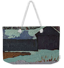 Foley Mountain Farm Weekender Tote Bag by Phil Chadwick