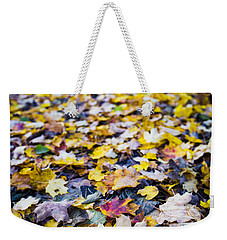 Weekender Tote Bag featuring the photograph Foliage by Sebastian Musial