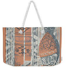Folk Arabic Symbols Weekender Tote Bag