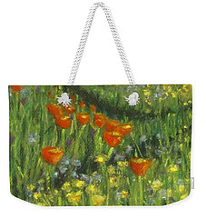 Poppy Trail Weekender Tote Bag