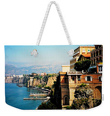 Follow My Heart To Sorrento Weekender Tote Bag