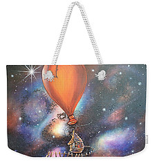 Follow That Star Weekender Tote Bag