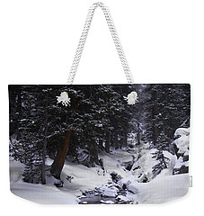 Follow The Creek Weekender Tote Bag