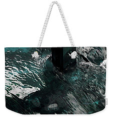 Weekender Tote Bag featuring the photograph Follow The Tao by Lauren Radke