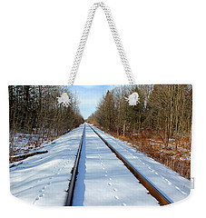 Weekender Tote Bag featuring the photograph Follow Your Own Path by Debbie Oppermann