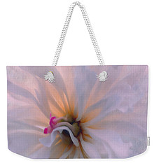 Weekender Tote Bag featuring the photograph Romance by Jean OKeeffe Macro Abundance Art