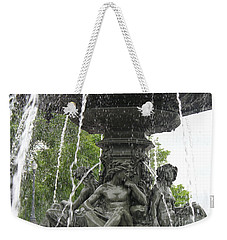 Fontaine De Tourny Weekender Tote Bag by Lingfai Leung