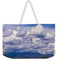 Fontana Lake Storm 2 Weekender Tote Bag by Chris Flees