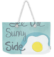 Food- Kitchen Art- Eggs- Sunny Side Up Weekender Tote Bag
