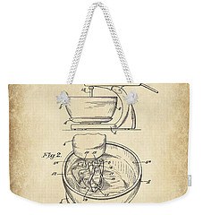 Food Mixer Patent Kitchen Art Weekender Tote Bag