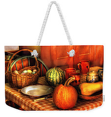 Food - Nature's Bounty Weekender Tote Bag by Mike Savad