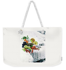 Food On Ice Weekender Tote Bag