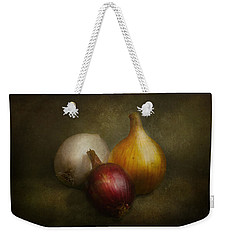 Food - Onions - Onions  Weekender Tote Bag by Mike Savad