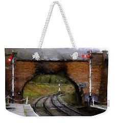 Foot Bridge. Weekender Tote Bag