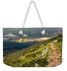 Foot Path Into The French Alps Weekender Tote Bag