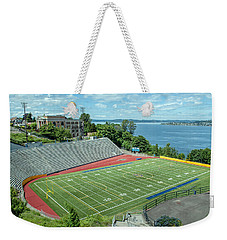 Football Field By The Bay Weekender Tote Bag