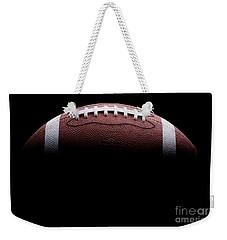 Football Painting Weekender Tote Bag by Jon Neidert