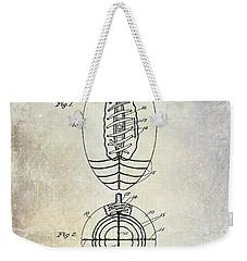 1925 Football Patent Drawing Weekender Tote Bag