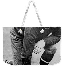 Football Player Jim Thorpe Weekender Tote Bag