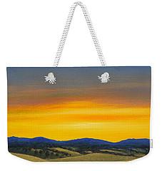 Foothills Sunrise Weekender Tote Bag