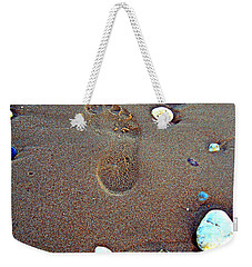 Footprint Weekender Tote Bag by Nina Ficur Feenan