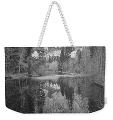 Footsteps Of Ansel Adams Weekender Tote Bag