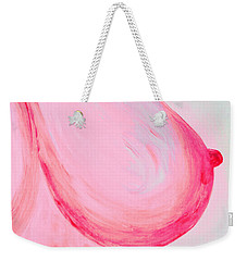 For Breast Cancer Awareness Weekender Tote Bag