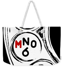 For Murder Weekender Tote Bag by Benjamin Yeager
