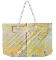 For The Cross Weekender Tote Bag