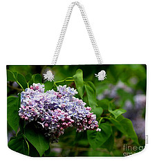 For The Love Of Lilac Weekender Tote Bag