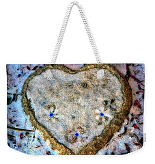 For The Love Of Winter Weekender Tote Bag by Deena Stoddard