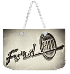 Ford F-100 Weekender Tote Bag by Caitlyn  Grasso