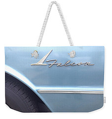 Ford Falcon 1961  Weekender Tote Bag by Don Spenner