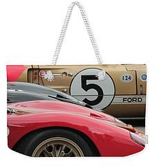 Ford Gt 40's Weekender Tote Bag