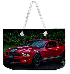 Ford Mustang Gt 500 Cobra Weekender Tote Bag