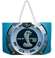 Ford Shelby Gt 500 Cobra Emblem Weekender Tote Bag