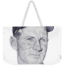 Weekender Tote Bag featuring the painting Ford by Tamir Barkan