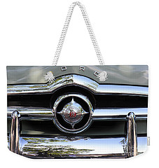 Ford V8 1949 - Vintage Weekender Tote Bag by The Art of Alice Terrill