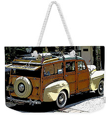 Ford Woodie Weekender Tote Bag