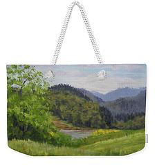Ford's Pond In Spring Weekender Tote Bag