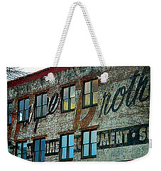 Fords Restaurant In Greenville Sc Weekender Tote Bag by Kathy Barney