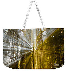 Forest Abstract Weekender Tote Bag by Vivian Christopher