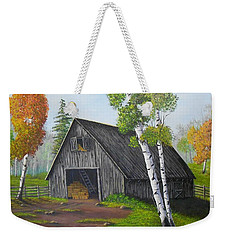 Forest Barn Weekender Tote Bag by Sheri Keith