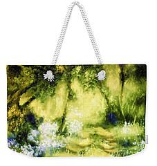 Forest Bluebells Weekender Tote Bag