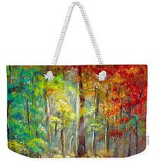 Forest Weekender Tote Bag by Bozena Zajaczkowska