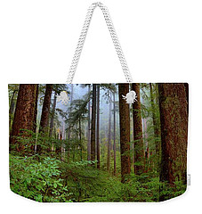 Forest Mist Weekender Tote Bag