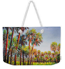 Forest Of Palms Weekender Tote Bag by Lou Ann Bagnall