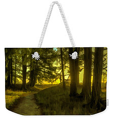 Forest Path Weekender Tote Bag
